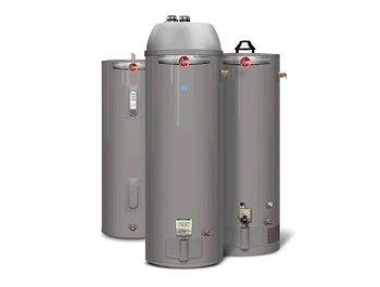 Gas & Electric Water Heaters